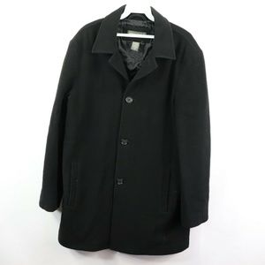 Banana Republic Jackets & Coats - Banana Republic Wool Cashmere Pea Coat Jacket Mens